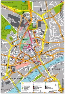Map of the Toon