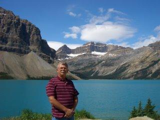 My dad at Peyto Lake