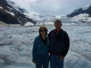 Me and Dad on the Glacier