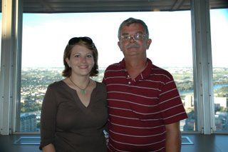 Dad and I at the Tower