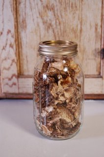 dried morels to save for later