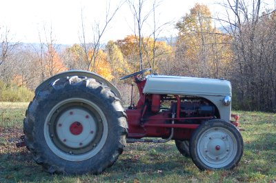 Ford 2N tractor, 1946, side view