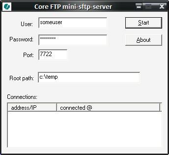 Jameser's Tech Tips: Tip #31: Simple Portable SFTP Server for Windows XP