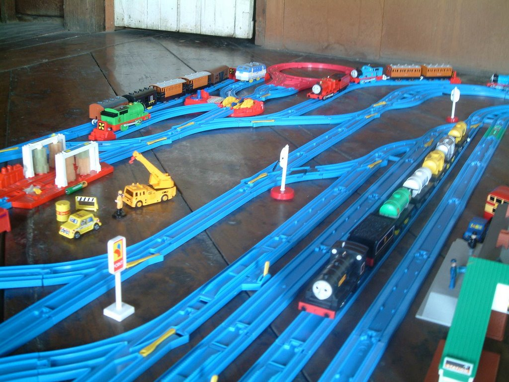 Tomy Trains And Layouts A Big One From Last Year