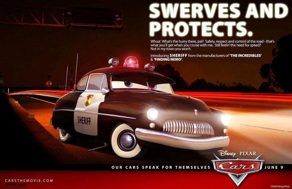 Imdb Cars: Sheriff And Mack Ads • Upcoming Pixar