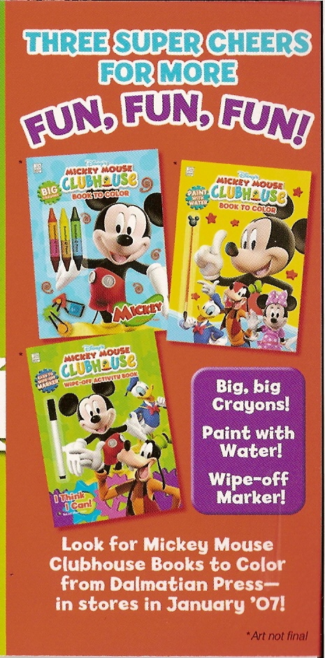 - Edsouth's Wonderful World Of Blog: Mickey Mouse Clubhouse Coloring Books