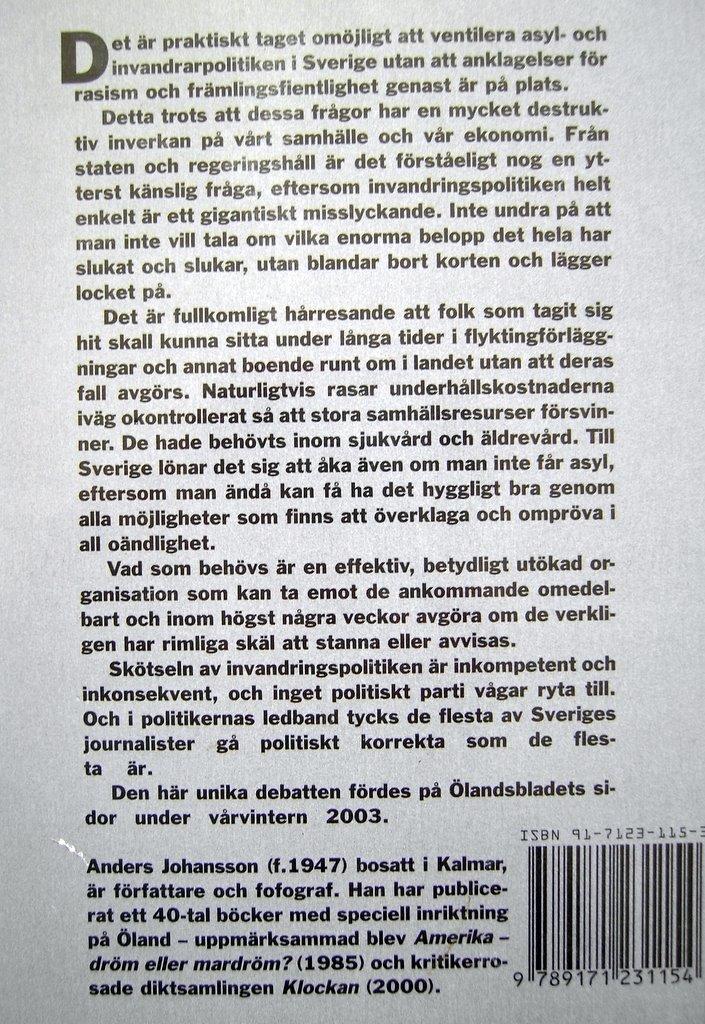 S vill folkomrosta 2006