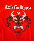 Show your support for the Red Devils with these all new Dragon Let's Go Korea tees