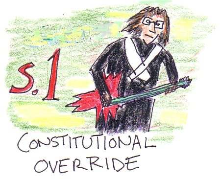 Constitutional OverRide -- Heavy Metal for a Free and Democratic Society