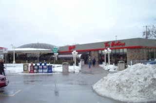 A Wendys Tim Hortons Highway Rest Stop
