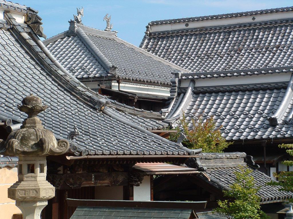 Японские крыши фото