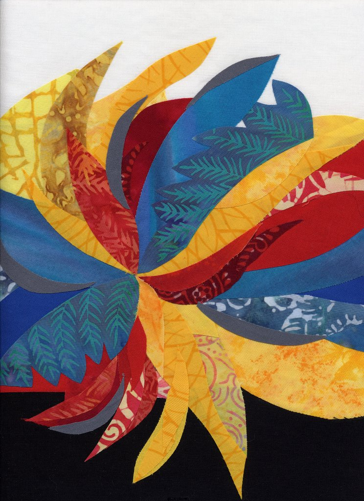 Art And Quilting In Camden Hope Blog Archive Color Study 5 Triadic Primary Colors