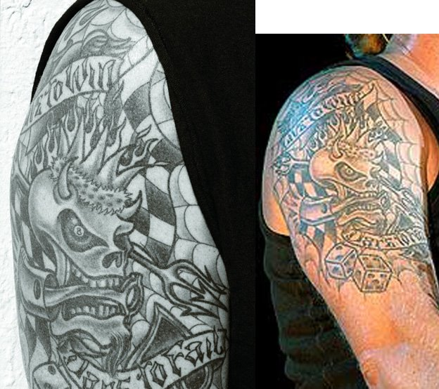 Totemetallica´s blog: Los tatuajes de James Hetfield