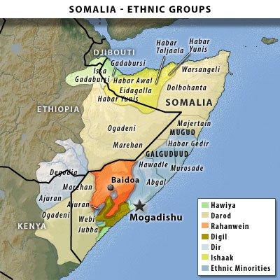 Ethnic Groups In Somalia 36