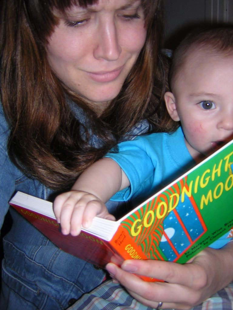 Image result for mother child goodnight moon
