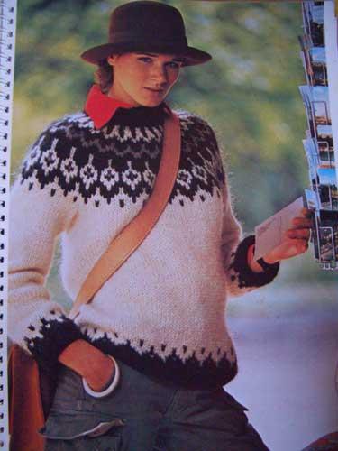 tricoter jacquard en rond