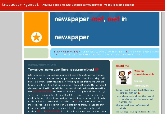 Diari Mef Mef A Diari Traductor Web Que Va Forca Be