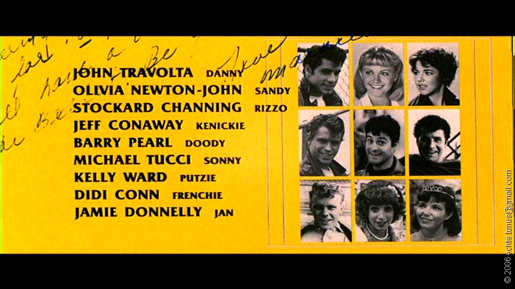 Vagebond's Movie ScreenShots: Grease (1978)