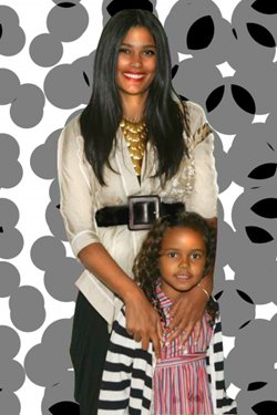 B-More Nosy This is For The Nosy People: Dame Dash Wife & Child
