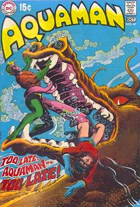 Filing Cabinet of the Damned: Aquaman, Tell Us About Your ...