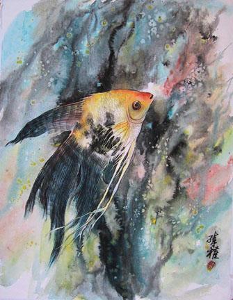 Arte Arte Y Mas Arte Pintura En Tinta China Y Acuarela