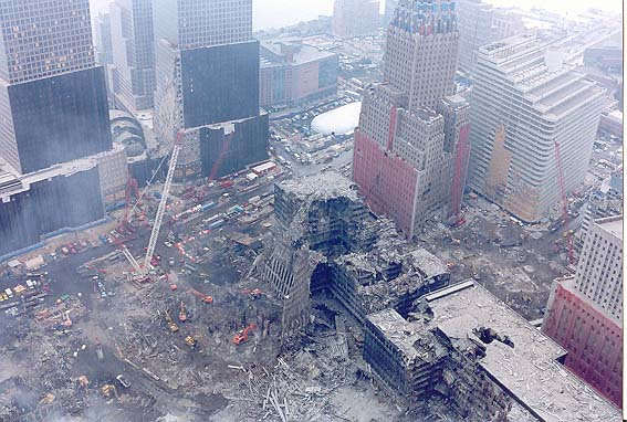 How Many Buildings Fell In New York On