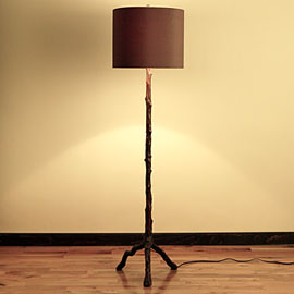 Z Gallerie Has Some Great Faux Bois Lamps Right Now Love This Twig Table Lamp And It Comes In A Floor Too Way To Add Little Rustic Ness