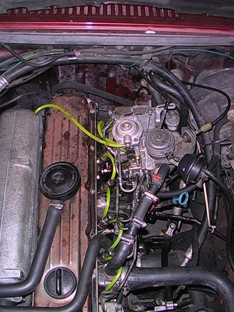 Volvo Turbo Diesel: Pump Timing Values & Return Lines
