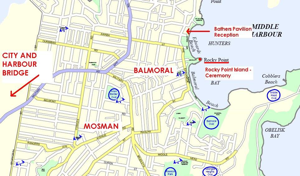 Balmoral Beach Map Balmoral Beach Map   compressportnederland Balmoral Beach Map