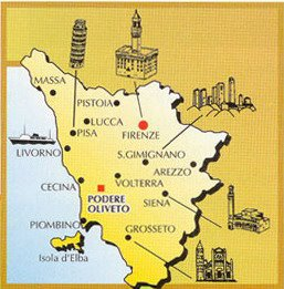 Tuscany Florence Siena San Gimignano Pisa Tuscany Landscape