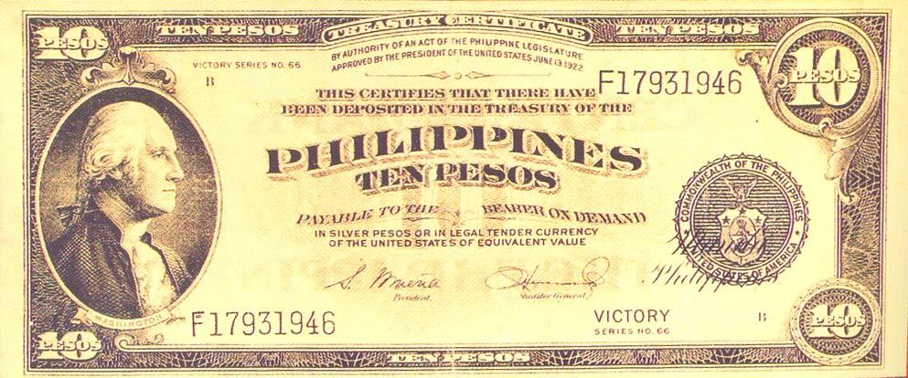 Philippine Peso Or Us Dollars