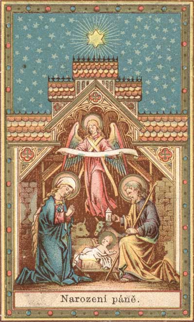 Catholic Christmas Cards.Against All Heresies Antique Christmas Cards