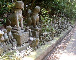 kitsune, Matsue Castle.