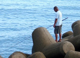 Fisherman in Shimane, Japan