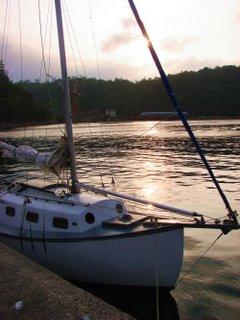 Yunotsu harbour