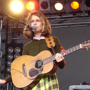 Juana Molina -- photo courtesty Flickr user Jeanie World