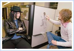 The Raconteurs' Jack gets drawn