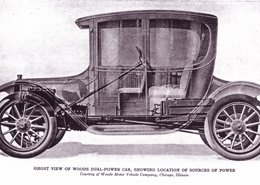 The First Hybrid Gas Electric Car Did Not Come Out In 1983 But 1917 Woods Dual Was Built By Motor Vehicle Company Of Chicago