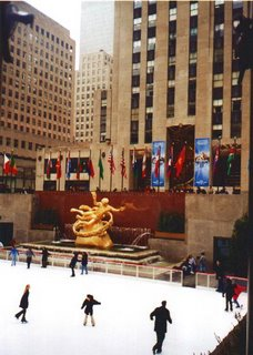No, not Rockefeller Center. Jay Rockefeller!