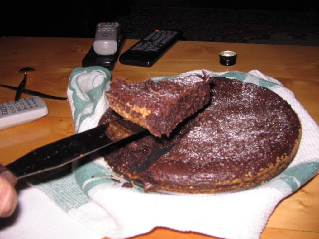 Green And Blacks Flourless Chocolate Cake