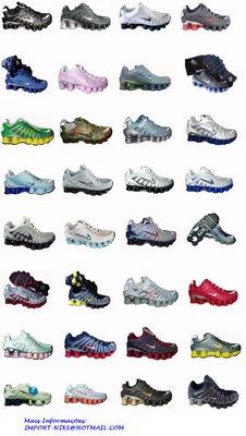 classic 6074b e1ea1 Tenis Nike Shox TL1 Todas as Cores e Tamanhos R   260,00. Aceito Sedex a  Cobrar Mais Informações  IMPORT-NIKE HOTMAIL.