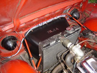 4ajim Triumph Ramblings Tr4a Radiator Cowl