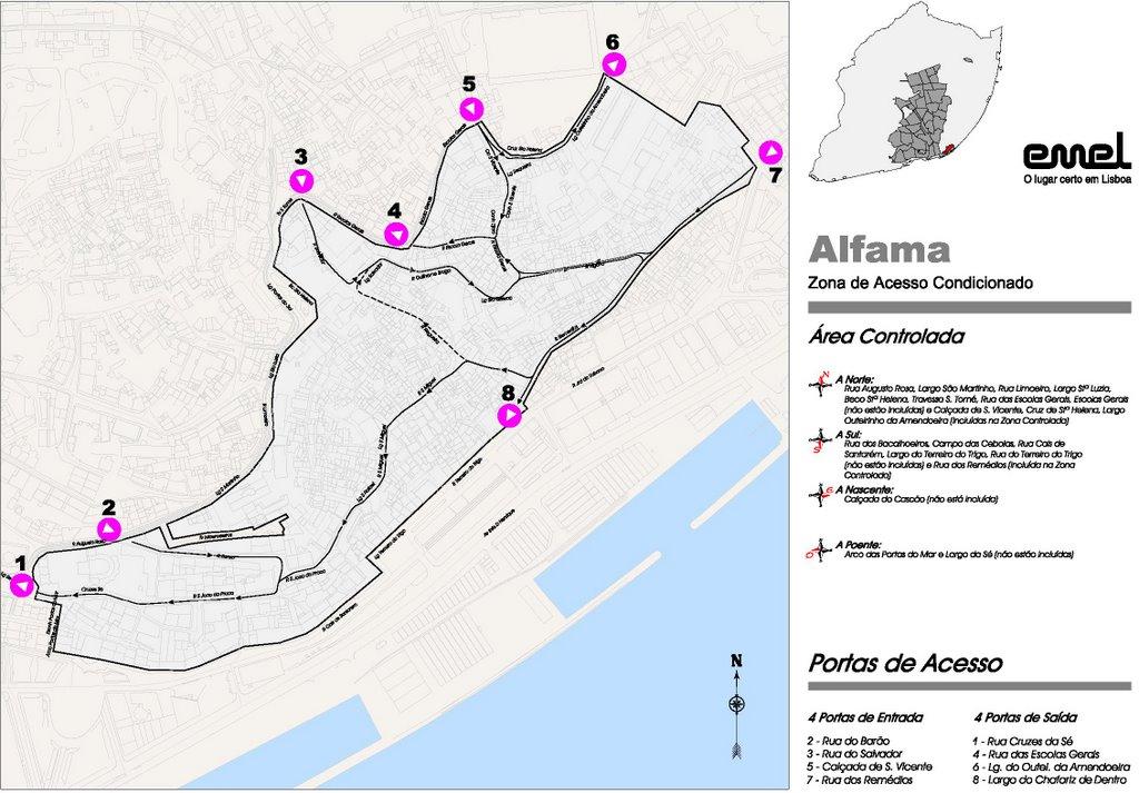 mapa das ruas de alfama ALFAMA   PLANETA ALFAMA: POLICIAMENTO EM ALFAMA mapa das ruas de alfama