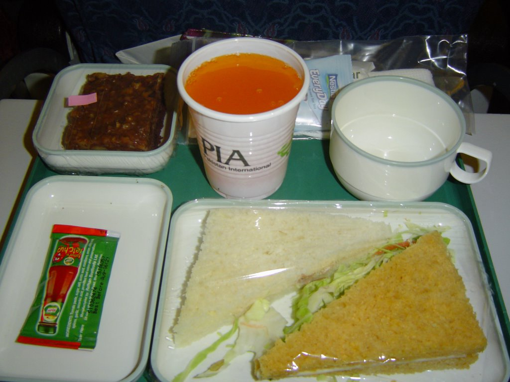 Air Blue Food Menu