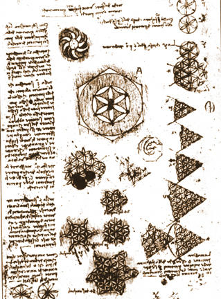 "The Monkey Buddha: ""Flower of Life"" Drawings by Leonardo ... Da Vinci Symbols"