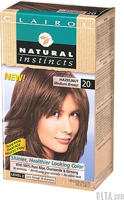 Brain Spam Product Review Clairol Natural Instincts