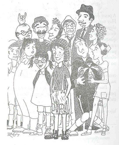 Dibujos De Roberto Gómez Bolaños Para El Diario Del Chavo