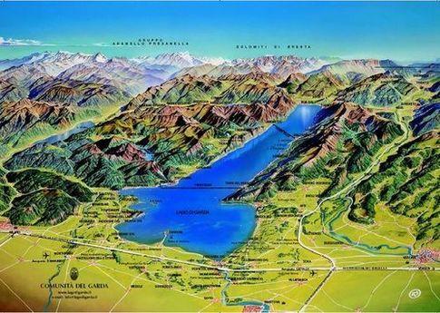 Cartina Fisica Lago Di Garda.Il Miglior Mojito Del Mondo Eccitante Lago Di Garda