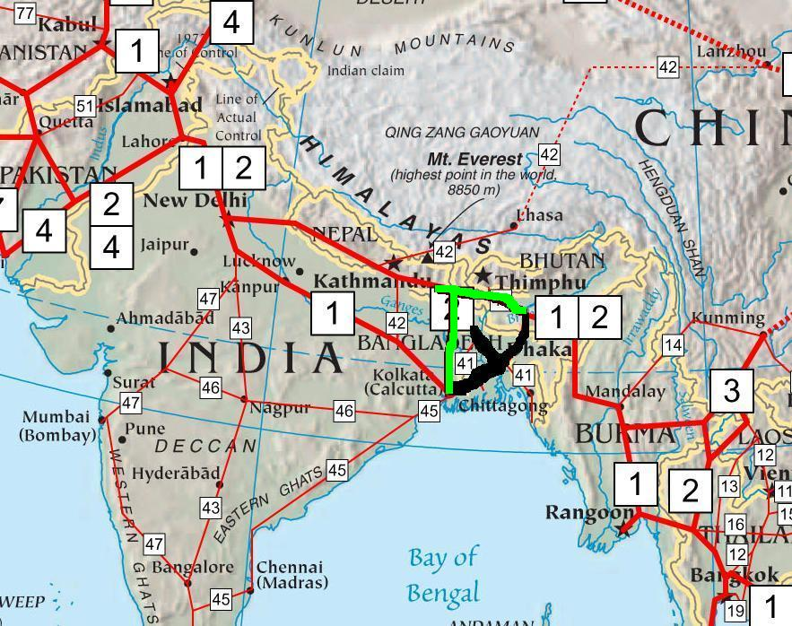 Asian Highway Network #