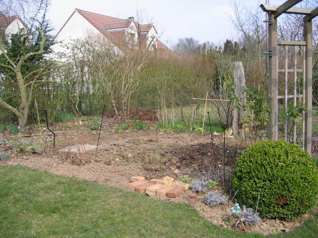 jardin de marguerite le potager en mars. Black Bedroom Furniture Sets. Home Design Ideas